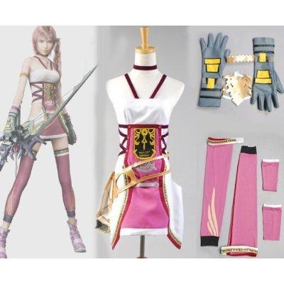 Final Fantasy XIII-2 FF 13-2 Serah Farron Cosplay Kostüm