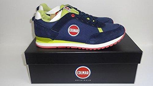 Colmar sneaker uomo Travis Colors 112 Navy/Lime nr.40