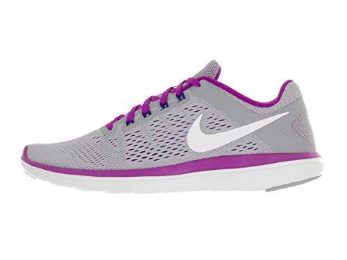 Nike Damen Flex 2016Rn Laufschuhe, UK Grey (004 Grey)