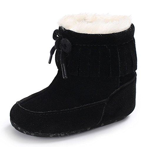 86cc22b732817 Chaussures Bébé Binggong Chaussures d hiver Bébé en Bas âge et Solides pour Bébé  Filles