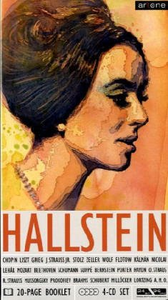 Hallstein singt Lieder, 4 Audio-CDs