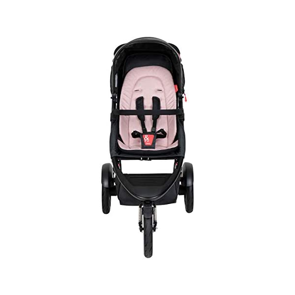 Phil&teds Dash Buggy with Seat Insert Blush + Carrycot) with Cover in Blush phil&teds Box contents: 1 Phil&teds Dash buggy with seat insert blush + baby bath (Carrycot) with cover blush. With a second seat, can be used as a twin and siblings for 2 children (not included, please order separately) 11.2 kg lightweight and slim 58 cm. 3