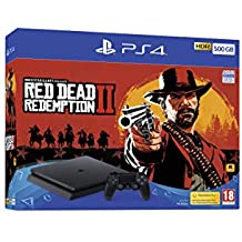 PS4 500GB Red Dead Redemption 2 Bundle