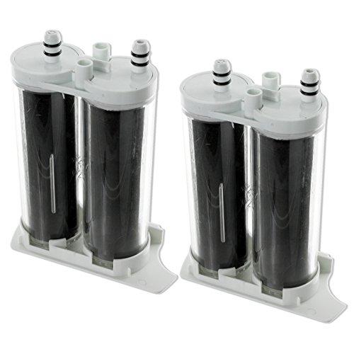 Spares2go wf2cb tipo lado agua filtros para Electrolux frigorífico congelador (Pack de 2)