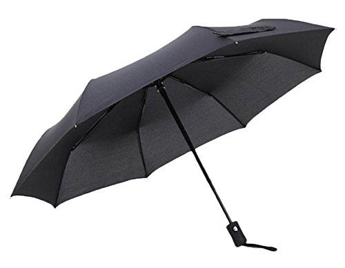 Black Temptation Parapluie Automatique Rain Travel - Noir