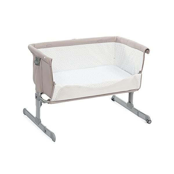 Chicco Next2me Side Sleeping Crib - Chick to Chick  Co-sleeping crib that promotes side-sleeping and allows you to sleep close to your child Can be used as a normal crib as baby grows.open size: 66/81 x 93 x 69 Uitable from birth to 6 months/9 kg or until baby can pull themselves into an upright position 6