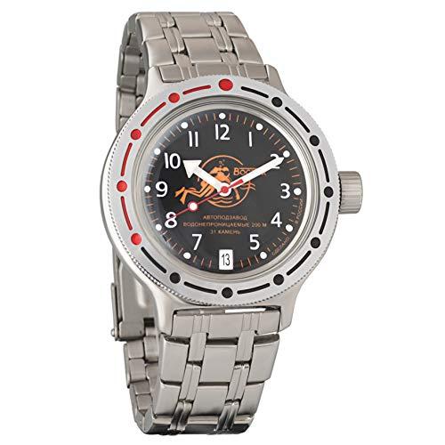 Vostok Amphibian 420380militare russo Divers Watch 2416b 200m automatico subacqueo Dude