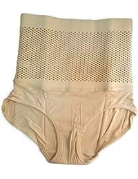 2edd1a40b7 eShop24x7 Women s Poly Cotton High Waist Body Shaper Tummy Tucker Slimming Butt  Lifter Seamless Corset Panty