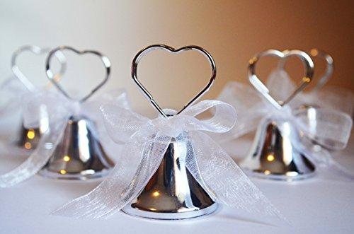 N.20 campanelle campanella tirabaci bomboniera segnaposto matrimonio segnatavola campanella campana