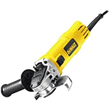 DeWalt DWE4157-QS - Mini-amoladora (125 mm, 900 W, 11800 rpm, arranque suave y bloqueo y re-arranque)