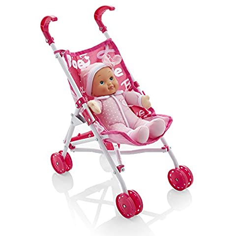 Molly Dolly My First Bambolina Doll & Stroller