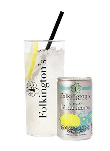 folkingtons Bitter Lemon Mini Dosen–Pack Größe = 3x 8x 150ml