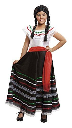 Imagen de my other me  disfraz de mejicana para niña, 10 12 años viving costumes 203322