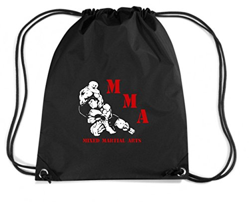 T-Shirtshock - Rucksack Budget Gymsack MMA Mixed Martial Arts T-Shirt Muay Thai, UFC, Street Fight Club