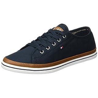 Tommy Hilfiger Damen K1285ESHA 6D Sneaker, Blau (Midnight 403), 37 EU