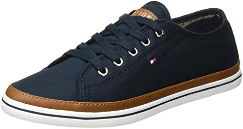 Tommy Hilfiger K1285esha 6d, Zapatillas para Mujer