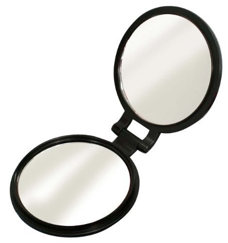 Double-sided compact mirror (10x magnifying glass with) YL-10 by yamamura