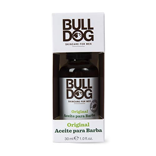 Bulldog Cuidado Facial para Hombres - Aceite para Barba Original, 30 m