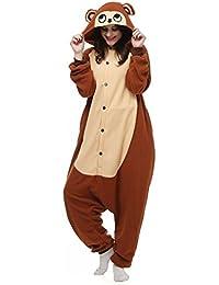 Unisex Animal Pijama Ropa de Dormir Cosplay Kigurumi Onesie Mono Disfraz para Adulto Entre 1,