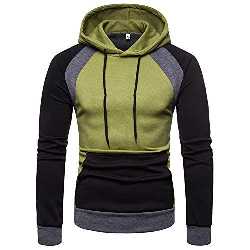 Beonzale Herren Herbst Winter Raglan Langarm Hoodie Pullover Sweatshirt Top Bluse (Boss Junior T-shirt Men)