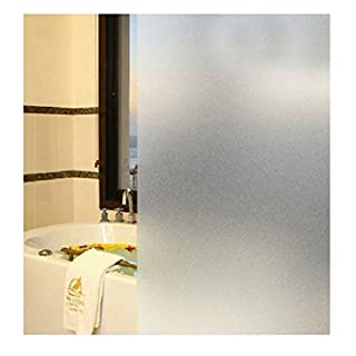 AFUT 60CM Privacy Opaque Frosted Glass Window Film