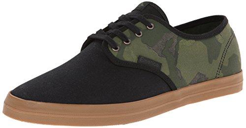 Emerica WINO FUSION 6101000088, Chaussures de skateboard mixte adulte Black/Camo