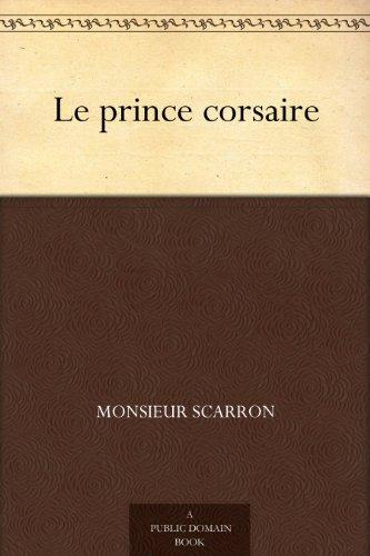 Couverture du livre Le prince corsaire