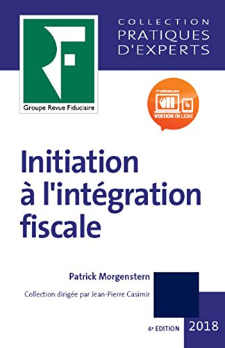Initiation  l'intgration fiscale