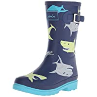 Joules Boys' Printed Welly Rain Boots