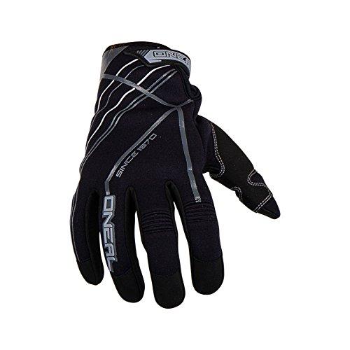 O'Neal Winterhandschuhe Schwarz Grau Fleecefutter Motocross Downhill MTB, 0388-2, Größe XX-Large -