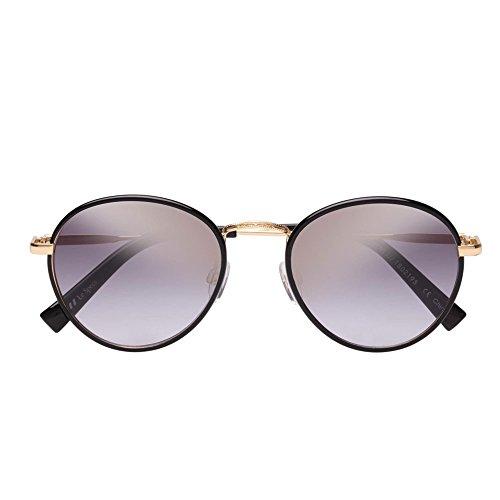 Le Specs Zephyr Deux Schwarz Sonnenbrille uni Schwarz