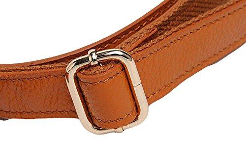 Damen Tasche Handtasche Mode Leder Schultertasche Messenger Tasche Freizeit Atmosphäre Elegant Blue