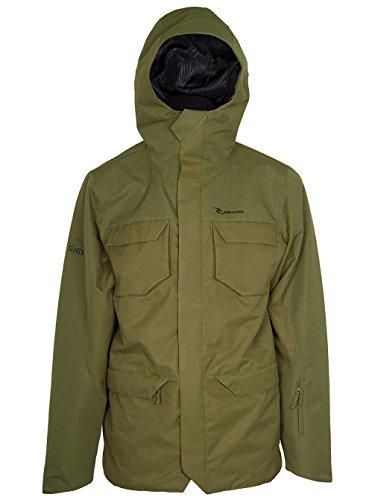 RIP CURL Herren Powpow Search 2L Jacket, Cypress, L