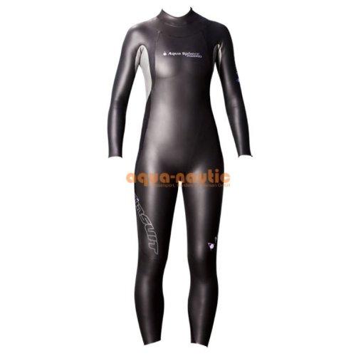 Aquasphere Schwimmanzug WPursuit black/purple (Größe: S)