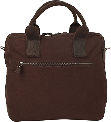 Harold´s WAXCAN Businesstasche, Borsa tote donna (Dark Brown)