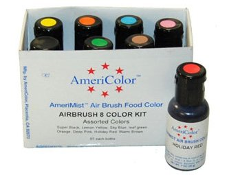 8 Airbrush Farben-Set AmeriColor AmeriMist (8x19ml) -