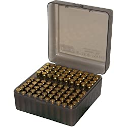 MTM 100 Round Rifle Ammunition Box RM-100 Smoke (RM-100)