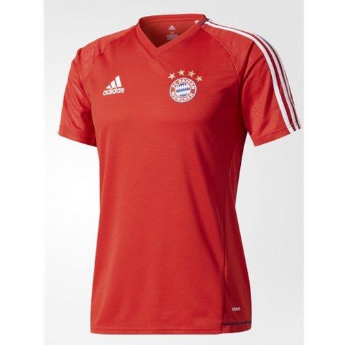 adidas FC Bayern München Training Trikot Shirt (XL, Rot)