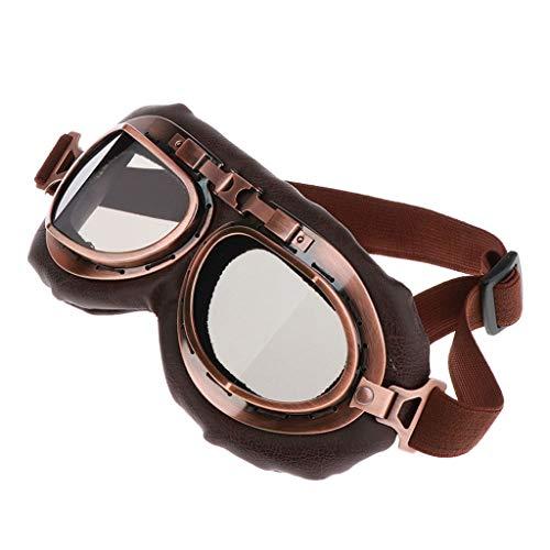 Preisvergleich Produktbild H HILABEE Motorradbrille Fahrradbrille Sportbrille passend für Erwachsener Jugend,  Verstellbar,  Anti Beschlag,  Kratzfest,  UV-Beständig