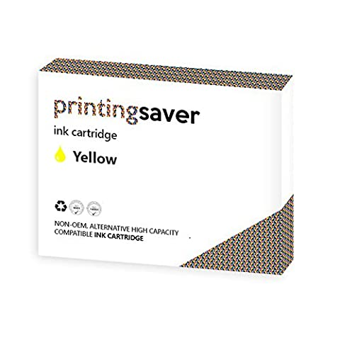 Printing Saver HP 951 XL JAUNE (1) cartouche d'encre pour HP Officejet Pro 8100 ePrinter, 8600 e-All-in-One, 8610 e-All-in-One, 8615 e-All-in-One, 8620 e-All-in-One imprimantes - Remplacement Compatible