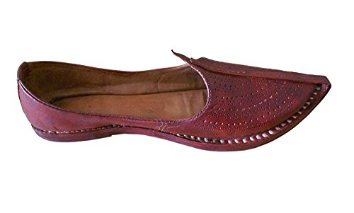 Kalra Creations , Chaussons pour homme Marron