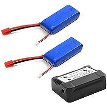 XCSOURCE® 2pc 7.4V 2000mAh 25C Lipo batería + Cargador de batería Para Syma X8C X8W X8G Quadcopter BC587