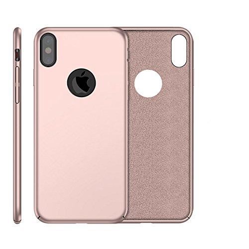 Cover iPhone X, E-TNT® 2017 apple custodia iPhone X, [Cuscino in pelle morbida] protezione supporto originali silicone case , [Sensazione di mano liscia] skin Morbida chiara ferragni bum