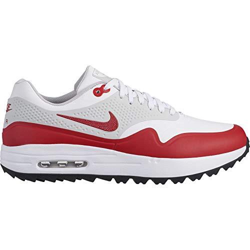 Nike Air Max 1 G, Scarpe da Golf Uomo, Bianco (Blanco 100), 41 EU