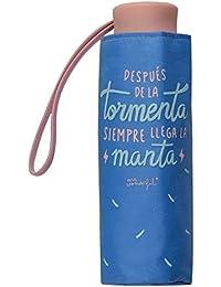 Paraguas Plegable con Funda Mr. Wonderful Después de la tormenta Siempre llega la Manta