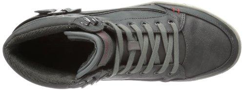 Mustang Schnür 4068-501 Herren Sneaker Schwarz (Schwarz 9)