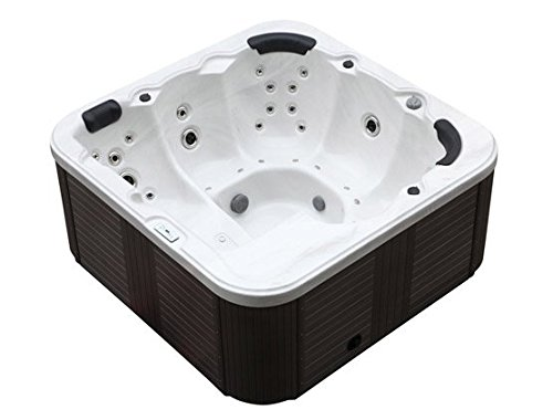 outdoor jacuzzi hot tub venice white colour with 44. Black Bedroom Furniture Sets. Home Design Ideas