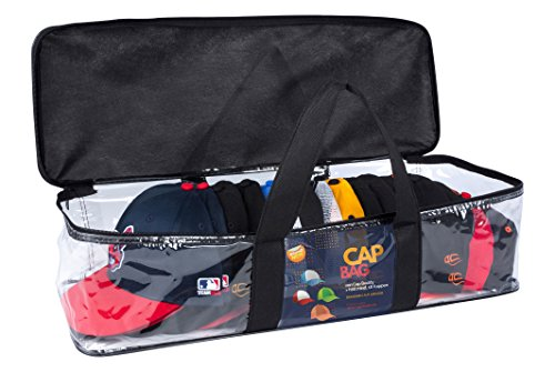 Baseball CAP BAG-von Cap Buddy-hält mindestens 18 Baseballkappen-alle Snapback-Flex-Trucker-Fitted sauber aufbewahren