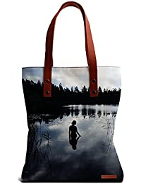 DailyObjects Reflecting Beauty Tote Bag