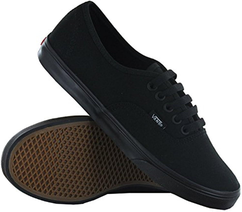 Vans LPE Canvas  Unisex Adults 'Sneaker  Variation  Schwarz   Schwarz/Schwarz   Größe: 36.5 EU